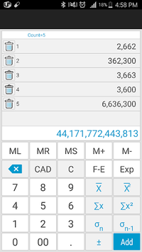 Total Calculator APK screenshot 1