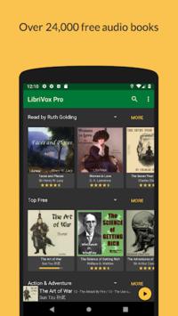 LibriVox Audio Books APK screenshot 1