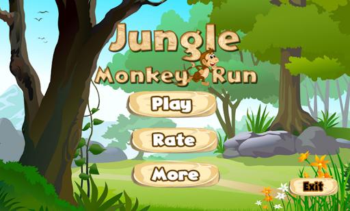 Jungle Monkey Run APK screenshot 1