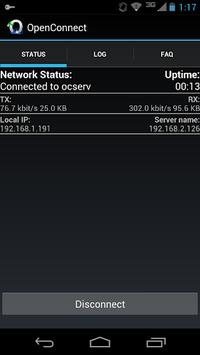 OpenConnect APK screenshot 1