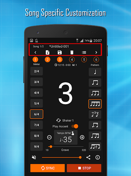 Stage Metronome (Perfect Timing) APK screenshot 1