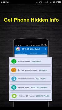 3G to 4G Switch 2018 - LTE Converter APK screenshot 1