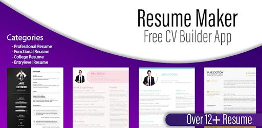 Resume Generator:Free CV Maker,Templates Builder pc screenshot