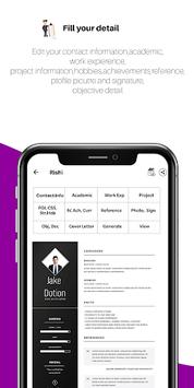 Resume Generator:Free CV Maker,Templates Builder APK screenshot 1