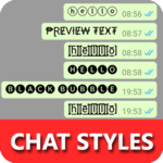 Chat Styles: Cool Text, Stylish Font for WHatsapp icon