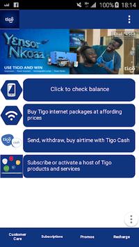 Tigo Self Care APK screenshot 1