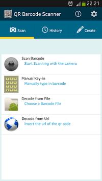 QR BARCODE SCANNER APK screenshot 1