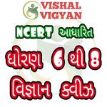 NCERT Based Science MCQ STD 6 To 8 Vishal Vigyan icon