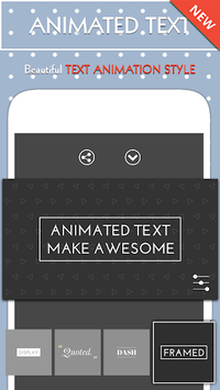 Animated Text – Text Animation Maker APK screenshot 1