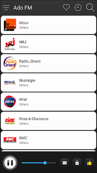 France Radio Stations Online - French FM AM Music APK screenshot 1