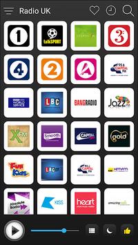 UK Radio Stations Online - English FM AM Music APK screenshot 1