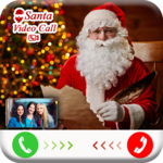 Santa Claus Video Call : Live Santa Video Call icon