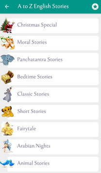 500+ Famous English Stories APK screenshot 1