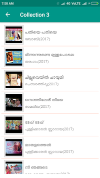 New Malayalam Songs Video APK screenshot 1