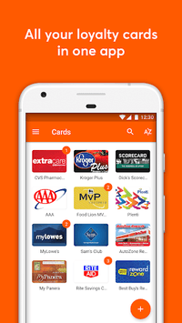 mobile-pocket loyalty cards APK screenshot 1