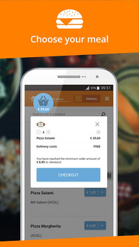 Lieferservice.at - Order food APK screenshot 1