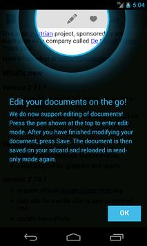 OpenDocument Reader APK screenshot 1