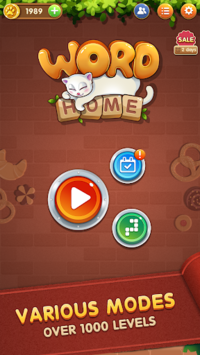 Word Home™ - Cat Puzzle Game, Merry Christmas! APK screenshot 1