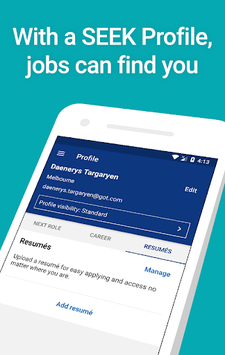 SEEK Job Search APK screenshot 1