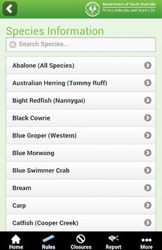 SA Recreational Fishing Guide APK screenshot 1