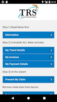 Tourist Refund Scheme APK screenshot 1