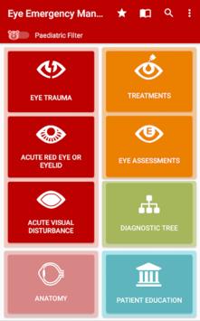 Eye Emergency Manual APK screenshot 1
