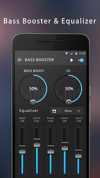 Bass Booster & Equalizer APK screenshot 1