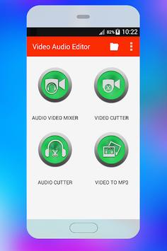 Video Audio Converter / Video Cutter /Video Editor APK screenshot 1