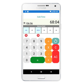 Calculator hours and minutes APK screenshot 1