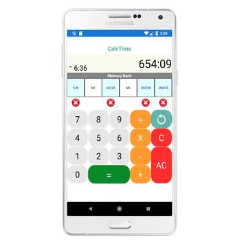 Calculator hours and minutes APK screenshot 1