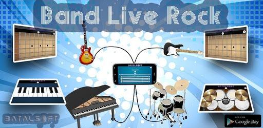 Band Live Rock (drum, bass, guitar, piano, mic) pc screenshot