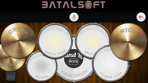 Band Live Rock (drum, bass, guitar, piano, mic) APK screenshot 1