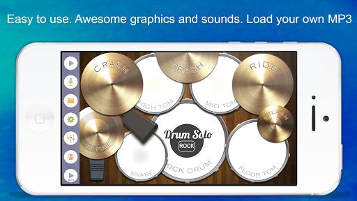 Drum Solo: Rock! APK screenshot 1