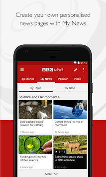 BBC News APK screenshot 1