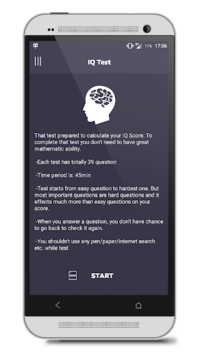 IQ Test APK screenshot 1