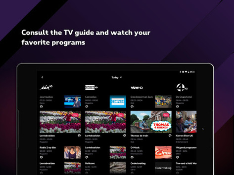 Proximus TV APK screenshot 1