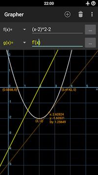 Grapher - Equation Plotter & Solver APK screenshot 1