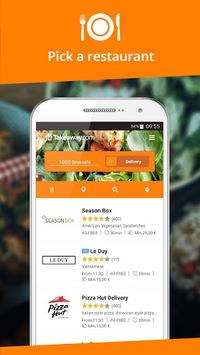 Takeaway.com - Belgium APK screenshot 1
