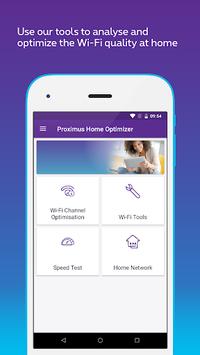 Proximus Home Optimizer APK screenshot 1