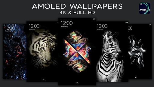 AMOLED Wallpapers | 4K | Full HD | Backgrounds APK screenshot 1
