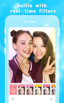 Sweet Camera - photo editor, beauty effect APK screenshot 1