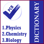 Dictionary PCB [Phy-Che-Bio] APK icon
