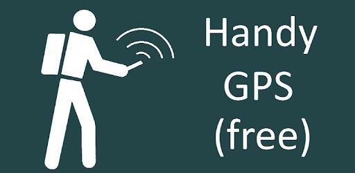 Handy GPS (free) pc screenshot