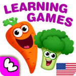 FUNNY FOOD 2! Educational Games for Kids Toddlers! for pc icon