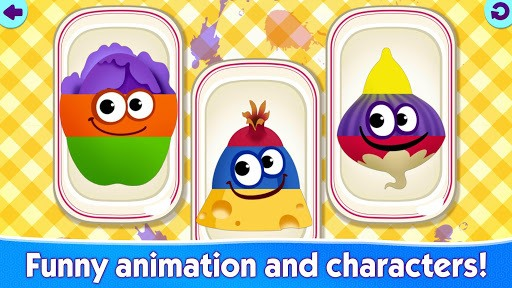 FUNNY FOOD 2! Educational Games for Kids Toddlers! APK screenshot 1