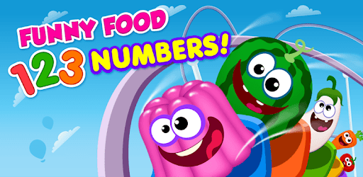 Funny Food 123! Kids Number Games for Toddlers pc screenshot