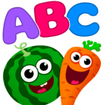 Funny Food! learn ABC games for toddlers&babies icon