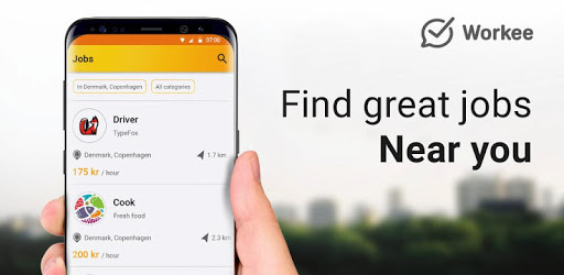 Job Search Denmark – Workee pc screenshot