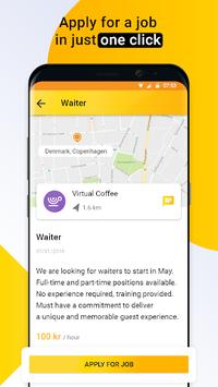 Job Search Denmark – Workee APK screenshot 1