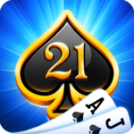 Blackjack 21 - casino card game icon